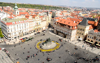 Old Town Square from Clock Tower