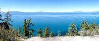 Western Lake Tahoe from Vista Point