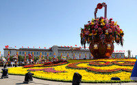 _Tianemen Square Flower Basket 0979