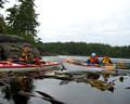 Kayaking in BC