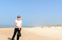 Sandy at the Baltic Coast