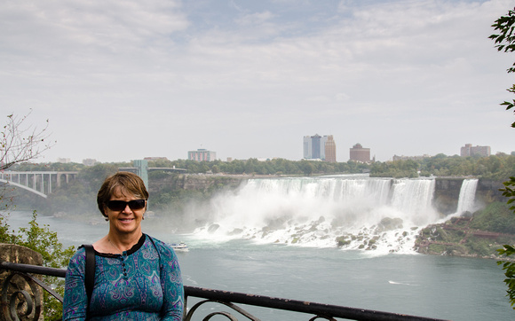 Sandy and the American Falls
